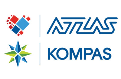 Book with Atlas Kompas simply and easily