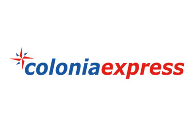 Book with Colonia Express simply and easily