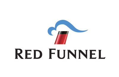 Book with Red Funnel simply and easily